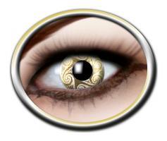 Gold Kontaktlinsen