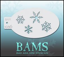 Bad Ass Mini Stencil 1036