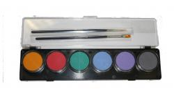 Diamond FX 6 x 10g Farben Palette Pastell