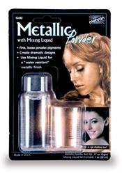 Metallic Powder & Mixing Liquid / Gold