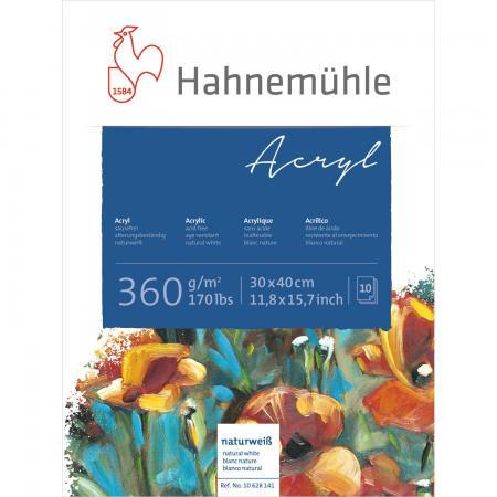 Acryl-Malblock, 360 g/m², 10 Blatt, 36 x 48cm
