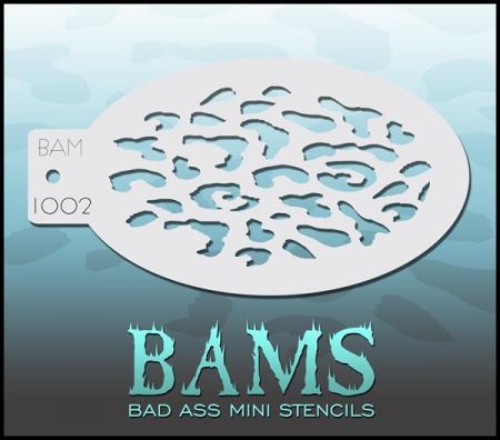 Bad Ass Mini Stencil 1002