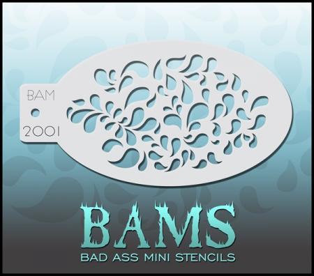 Bad Ass Mini Stencil 2001