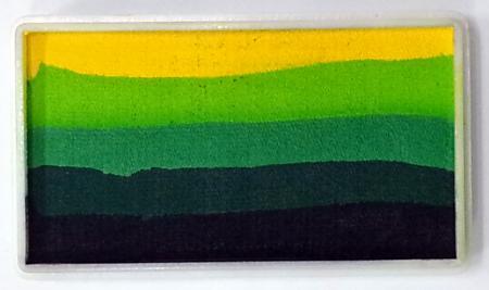 Diamond FX Rainbow Colours 30g / Split Cake Nr. 8 Green Carpet
