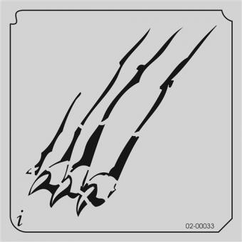 istencils 12,7cm x 12,7cm Pranke