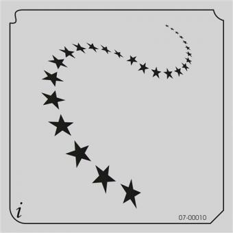 istencils 12,7cm x 12,7cm Sterne
