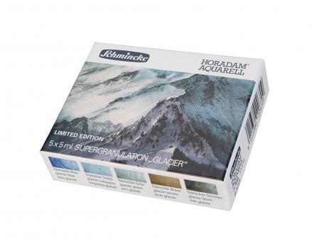 """Schmincke Horadam Aquarell Kartonset """"Gletscher"""""""