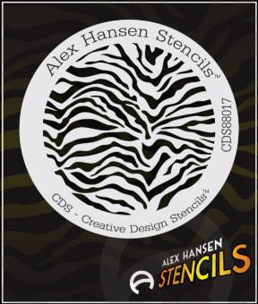 Alex Hansen Stencils CDS 88017 rund ca. 12cm