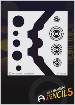 Alex Hansen Stencils SZ Shield