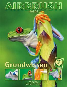Airbrush Grundwissen von Roland Kuck, inkl. DVD