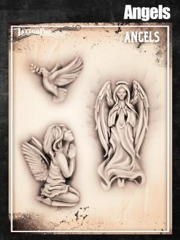 Tattoo Pro Stencil / Angels