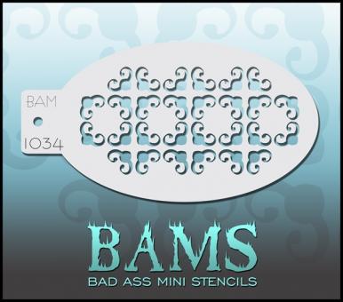 Bad Ass Mini Stencil 1034