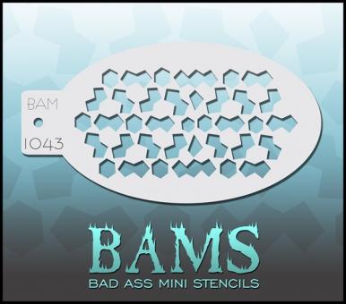 Bad Ass Mini Stencil 1043
