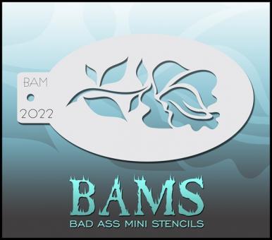 Bad Ass Mini Stencil 2022