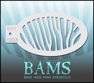 Bad Ass Mini Stencil 1003