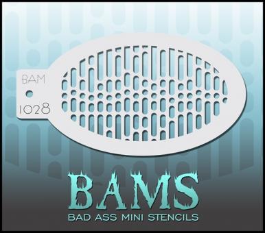 Bad Ass Mini Stencil 1028
