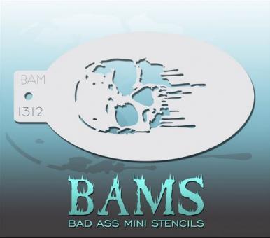 Bad Ass Mini Stencil 1312