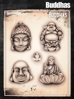 Tattoo Pro Stencil / Buddhas
