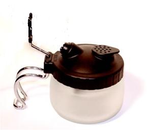 Airbrush Cleaning Pot Reinigungstopf mit Halter
