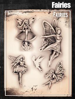 Tattoo Pro Stencil / Fairies