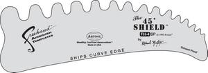 Artool Freehand Schablone FH 4 / 45° Shield R. Montoya