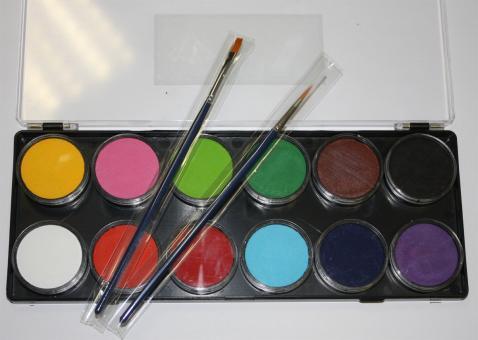 Diamond FX 12 x 10g Farben Palette Essentials