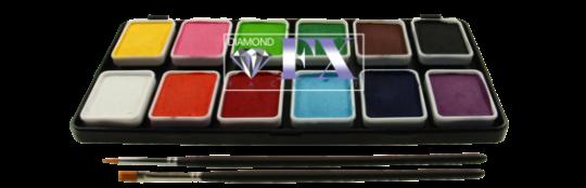 Diamond FX Essential Schminkpalette 12 x 6g