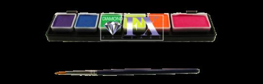 Diamond FX Neon Palette 1 x 6g + 5 x3g