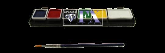 Diamond FX  Essential Palette 1 x 6g + 5 x3g