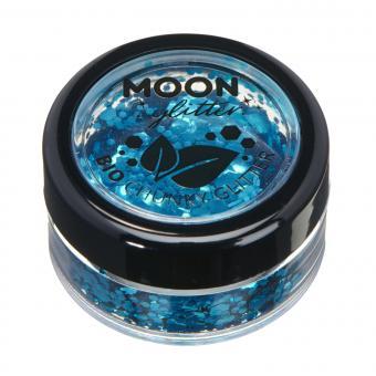 Moon Bio Glitter grob 5g / Blue