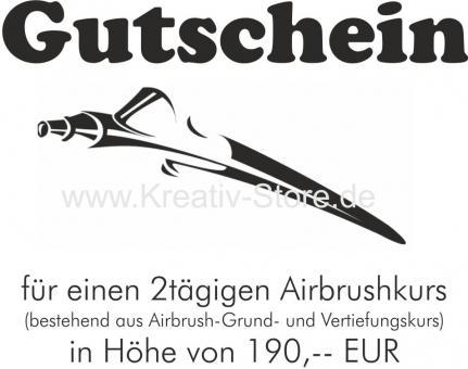Gutschein / 2 Tage Airbrush Seminar