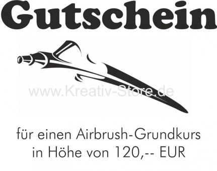Gutschein / Airbrush Grundkurs