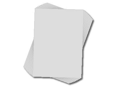 HTP Schablonenfolie, DIN A3, reißfest, bedruckbar 10 Stück
