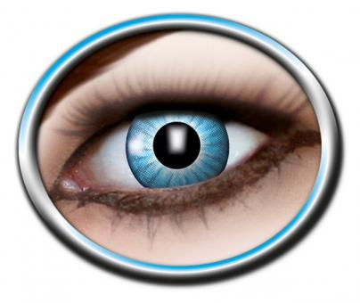 Motiv Kontaktlinsen / Electro Blue 3-Monatslinsen