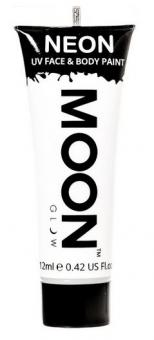 Neon UV Face/ Bodypaint 12 ml / White
