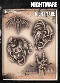 Tattoo Pro Stencil / Nightmare