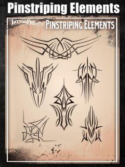 Tattoo Pro Stencil / Pinstriping