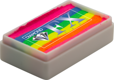 Diamond FX Rainbow Colours 28g / Split Cake Nr. 24 Neon 2