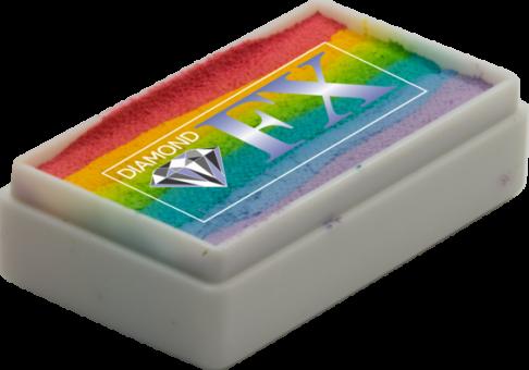Diamond FX Rainbow Colours 28g / Split Cake Nr. 4 Blurred Lines