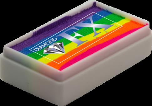 Diamond FX Rainbow Colours 28g / Split Cake Nr. 7 Neon Nights