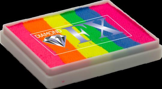 Diamond FX 50g / Split Cake Nr. 24 Color Splash