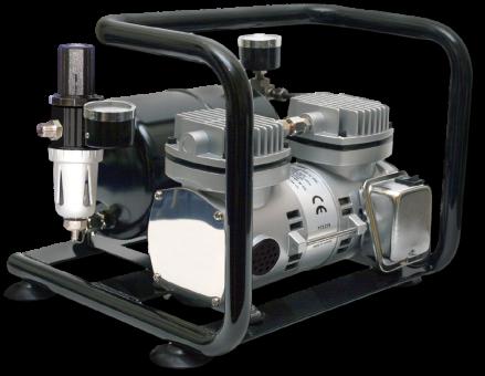 Airbrush Kompressor Sparmax AC-500 Doppelkolben mit Drucktank