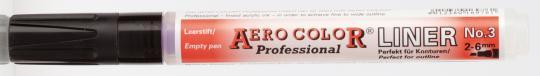 Aero Color Liner 3, Strichbreite ca. 6mm, für ca. 6ml Inhalt