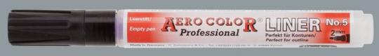Aero Color Liner 5, Strichbreite ca. 2mm, für ca. 4,5ml Inhalt