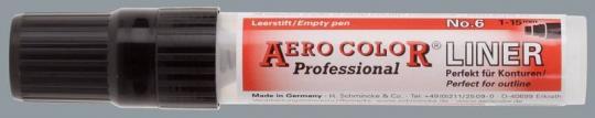 Aero Color Liner 6, Strichbreite ca. 1,0mm - 15mm, für ca. 28ml Inhalt