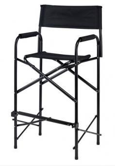 Schminkstuhl hoch, schwarz