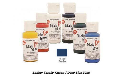 Badger Totally Tattoo/ Deep Blue 30ml