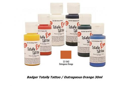 Badger Totally Tattoo / Outrageous Orange 30ml