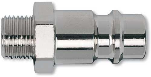"""Airbrush Stecknippel NW 7,2mm mit 1/8"""" Außengewinde"""
