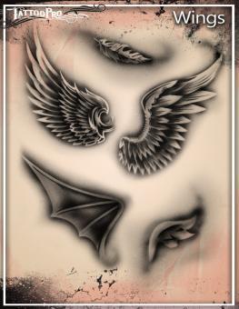 Tattoo Pro Stencil / Wings